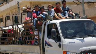 The War in Syria: Regime intensifies bombing of rebel-held region