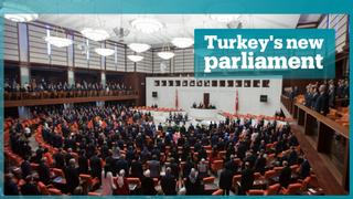 Turkey's MPs sworn in under the new system