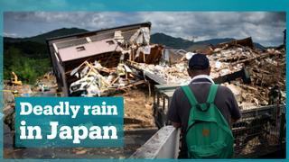 Heavy rainfall kills more than 100 people in Japan