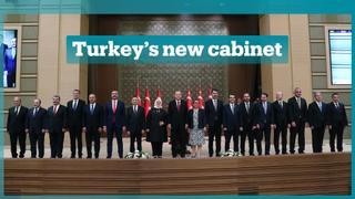 Erdogan sworn in as Turkey's first executive president