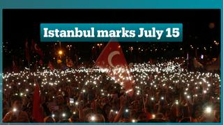 Turks in Istanbul mark the 2nd anniversary of the July 15 failed coup attempt