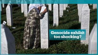 Srebrenica genocide exhibit cancelled