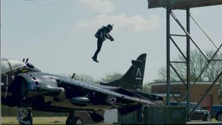 Flying High: Custom jet suit on sale in London for $450,000