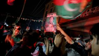 Pakistan Elections: Imran Khan`s supporters celebrate projected win