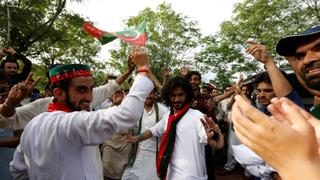 Imran Khan declares victory