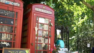 UK Heritage: New uses for Britain's red phone boxes