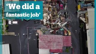 Trump says response to Puerto Rico hurricane 'fantastic'
