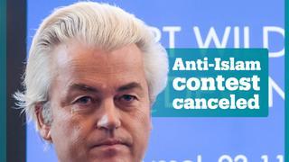 Dutch politician cancels anti-Islam cartoon contest