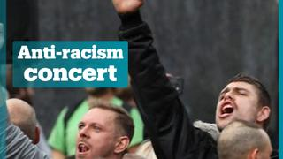 Thousands attend anti-racism concert in Germany