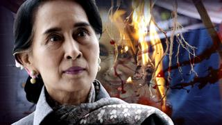 """BLOOD ON HER HANDS!"" Suu Kyi biographer changes mind on ex-democracy hero - take away Nobel Prize!!"