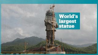India on a mission to break record for world's largest statue