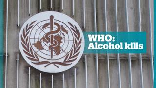 Alcohol kills more than 3 million people in a year according to the WHO
