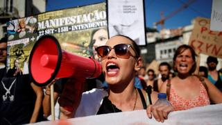 Portuguese protests for higher pay fizzle | Money Talks