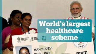 India launches world's largest healthcare scheme