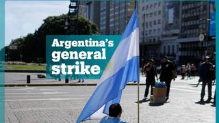 Thousands protest in Argentina as IMF bumps up bailout package