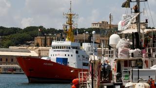 Refugee Crisis: 58 migrants stranded at sea onboard Aquarius