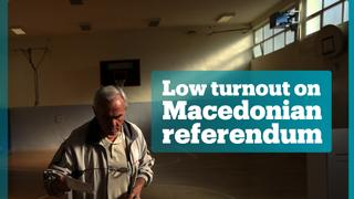 Macedonian referendum failed to secure required turnout