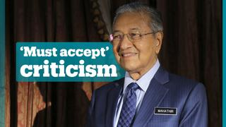Malaysian PM Mahathir Mohamad on being insulted