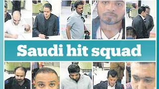 Who are the Saudi 'hit squad' members that targeted Khashoggi?