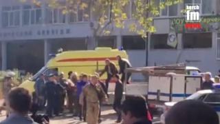 Crimea Explosion: More than a dozen dead from blast at college