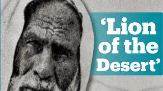 Who was Libyan national hero Omar Mukhtar?