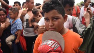Migrant Caravan: Thousands in US-bound caravan head into Mexico