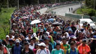Asylum seekers march towards US border | Money Talks