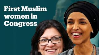 Ilhan Omar and Rashida Tlaib become first two Muslim American women elected to US congress