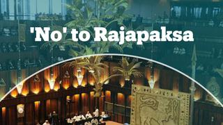 Sri Lanka's parliament passes no-confidence motion against PM Rajapaksa
