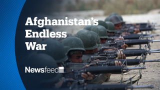 NewsFeed – More Bombs Than Ever hit Afghanistan in America's Forever War