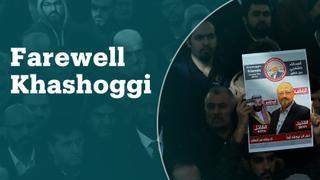 Jamal Khashoggi's Istanbul funeral prayers