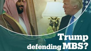 Trump reacts to CIA report on Khashoggi killing