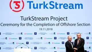 TurkStream's sea section completed   Money Talks