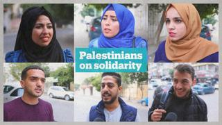 Palestinians react to International Day of Solidarity with the Palestinian People