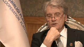 One on one: Interview with Viktor Yushchenko on the Russia-Ukraine Tension