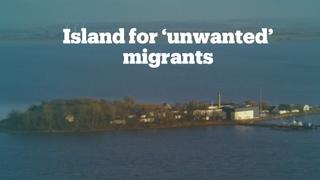 Denmark plans to send 'unwanted' refugees to remote island