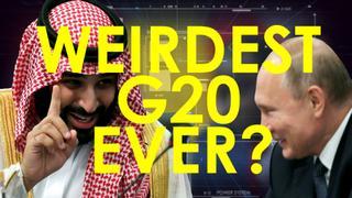 "WEIRDEST G20 EVER? Putin high-fives MBS and Trump says ""get me outta here!"""