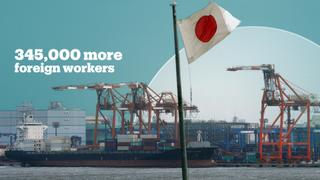 Japan passes divisive new law to accept more foreign workers