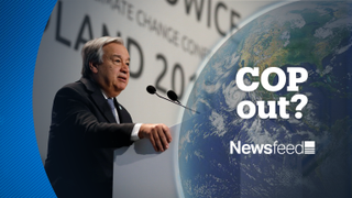 NewsFeed - Nations agree hardly anything at climate summit