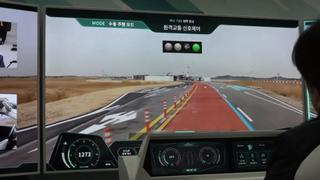 5G Driverless Cars: South Korea tests new network in mock city