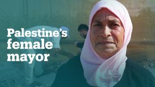 Palestine's female mayor