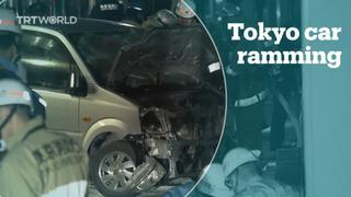 Tokyo car ploughing