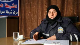 The War in Syria: Women take on police duties in Idlib province