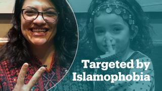 Congresswoman Rashida Tlaib targeted with Islamophobic post