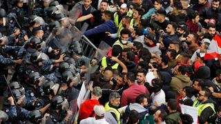 Anger explodes on Beirut's streets