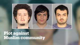 Four charged for plotting attack against Muslim community in New York