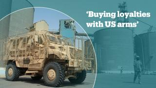 US-made weapons given to Saudi Arabia are falling in the hands of militants