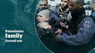 Israel evicts Palestinian family from home in East Jerusalem