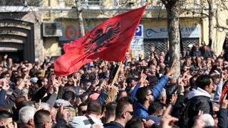 Albania's Future: Opposition stages protests against corruption