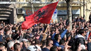 'We are not under any pressure,' says Albania's government spokeswoman